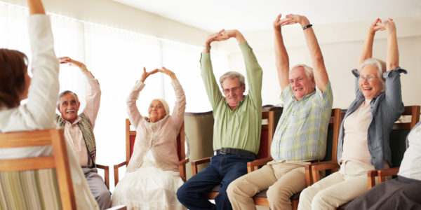 5 great exercises seniors can do at home